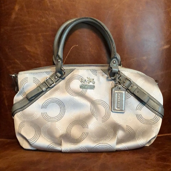 Coach Handbags - Coach Madison handbag - C design fabric